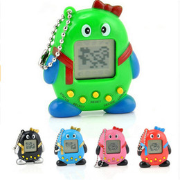 Wholesale Penguin Kids Games - Tamagochi Penguins Pets Toy Retro Game Toys 168 Pets In One Virtual Pet Cyber Toy Children Kids Games Toys with Keychain