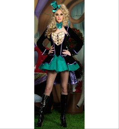 Wholesale Cheap Cosplay Costumes For Sale - w1022 2015 New Arrival Fashion Halloween Costumes For Women Fantasias Cosplay Clothes Set Cheap Hot Sale Free Shipping