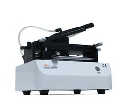 Oca plastifieuse en Ligne-Plastifieuse de vide de machine de stratification de film de l'écran tactile OCA de 7 pouces pour la pompe à vide intégrée de polariseur de film d'OCA