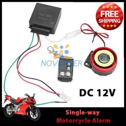 Wholesale Remote Alarm Bike - Motorcycle Alarm Anti-theft Security System Moto Bike Scooter Theft Protection Alarm Keyless Remote Control 12V Universal order<$18no track