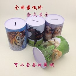 Wholesale Tin Piggy Banks - Tin piggy bank saving cans not only into money box creative birthday gifts