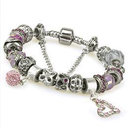 Wholesale Pisces Gifts - 2015 New Features DIY Pisces constellation transport bracelet Ms. hand jewelry fashion titanium steel bracelet 18CM 20CM