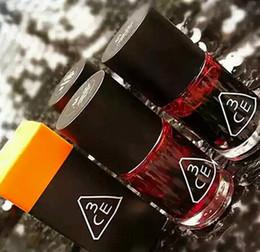 Wholesale wholesale mini lotions - Korea 3CE 3 Concept Eyes Liquid Waterproof mini magic cherry pink lip tint stain lip gloss lipstick Rouge Lotion Bite lips Xmas Gift #71531