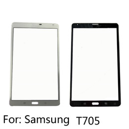 Wholesale Touchscreen Parts - New T705 For Samsung Outer Glass Lens Replacement Parts for Samsung Galaxy touchscreen Front Screen Glass