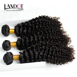 Wholesale Deep Curls Weave - Mongolian Kinky Curly Hair Unprocessed Mongolian Jerry Curls Human Hair Weaves Bundles 3Pcs Lot 8A Grade Mongolian Deep Curly Hair Extension
