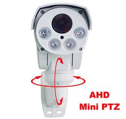 Wholesale Auto Iris Camera - 4x Auto Zoom Auto Iris 2.8-12mm lens 1.3MP Auto Cruise 256 preset 80M IR Distance Pan-Tilt-Zoom 960P Bullet PTZ Camera DHL Free Shipping