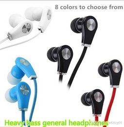 Wholesale Noise Types - Mobile phone belt line earphones with ear - type motion sound quality - heavy bass MP3 general computer ear plugs
