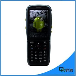 Wholesale Bluetooth Pdas - Wholesale- Original 1D Laser Barcode Handheld Scanner Bluetooth Android Rugged mobile Data Terminal PDA