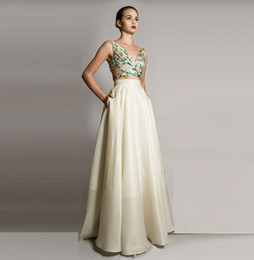 Wholesale Close Image - Ivory Satin Ruched Maxi Skirts with Pockets Party Dresses Zipper Close Top Quality Cocktail Dresses Elegant Skirt