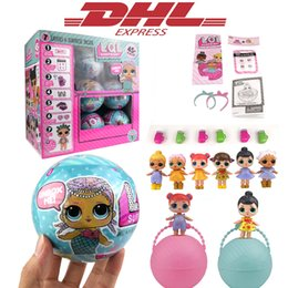 Wholesale Sonic Figure Dolls - 2017 New 18Pcs Lot LOL Surprise Doll Series Magic Unpacking Removable Egg Ball Action Figure Girl Novelty Funny Toy For Children