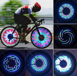 Wholesale Flash Images - Edison2011 1PCS 36 48 Led Bicycle Light Double Side Programming Flash Valve Wheel Light for 24 Inch Bicycle to Creat Fantastic Images