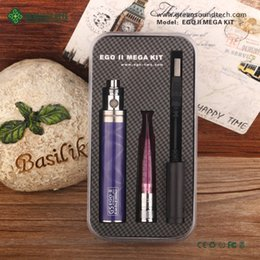 Wholesale Mega Purple - ego gs 2200 battery Green Sound new arrival Ego II 2200mah Mega Kit with nice case 23 colors to choose   OEM ODM welcome
