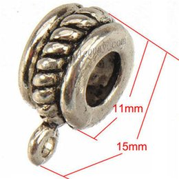 Bails colliers breloques connecteurs pendentifs bricolage rétro fit fit pandora bracelet ficelle en métal bijoux en gros accessoires ornements 100pcs ? partir de fabricateur