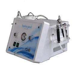 Wholesale Diamond Peel Machine Portable - SPA Salon 3in1 portable diamond dermabrasion water oxygen skin peeling hydra facial cleaning machine skin care
