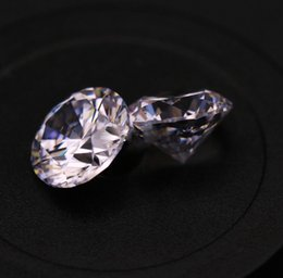 Wholesale Loose Stones For Jewelry - AAA Clear Cubic Zirconia White Lab Created Diamonds 3.25-5mm Loose Stone For Jewelry Making 500psc Lot