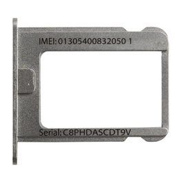 Wholesale Micro Sim Slot Replacement - Wholesale-High Quality 10Pcs Micro SIM Card Tray Holder Slot Replacement for iphone 4 4G 4S 4th