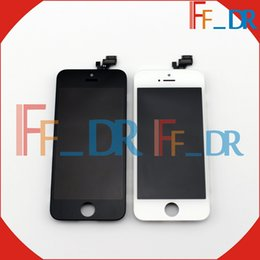 Wholesale Iphone5 Screen Replacement - Good Top Quality Perfect For iphone 5 Screen Lcd Screen Digitizer For iPhone5 lcds display Assembly Replacement No Dead Point free shipping