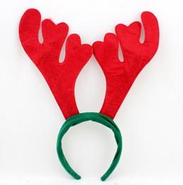 piscar emblemas do pino do natal Desconto PRESENTE DE NATAL !! Frete grátis suprimentos de decoração de natal rena Antler chapéu de Santa chapéu De Natal hoop frete grátis best2011
