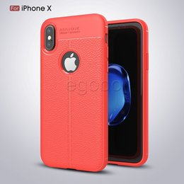 Wholesale Anti Silicone - Anti Slip Soft TPU Silicone Case Shell Shockproof Back Cases Cover For iPhone X 8 7 6 6S Plus 5 5S Samsung S7 edge S8 Plus Note 8
