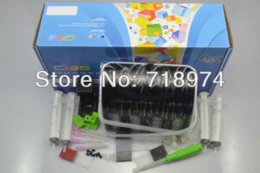Wholesale Continuous Ink For Hp - Free Shipping ! Continuous Ink Supply System for HP and Canon with accessories tools easy set up