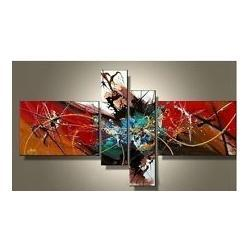 Wholesale Handpainted Huge Wall Art Large - Abstract Hand made HUGE LARGE CANVAS ART OIL PAINTING Decor wall+Christmas Gift