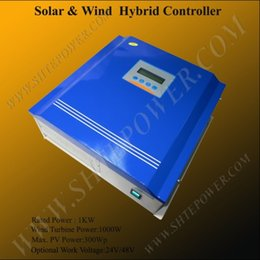 Wholesale Solar Hybrid Charge Controller - 1KW solar and wind hybrid controller,48V 1000W pwm charge controller
