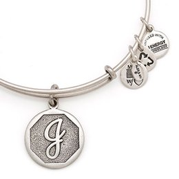 Wholesale Silver Chain Sellers - initial J Alex and Ani 26 Letter Expandable Electroplate gold and silver restore ancient ways Positive Hard body HOT Sellers Bangle
