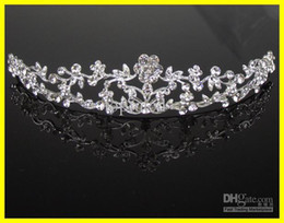 Wholesale Cheap Stone Accessories - 2015 Fashion Silver Bridal Crown For Wedding In Stock Jewelry Accessories Fast Shipping Cheap
