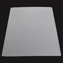 Wholesale Bamboo Computers - Wholesale- New 4pcs set Plastic Kitchen Tableware Placemat Mayitr Clear Dinner Table Mats Pad Computer Table Pad