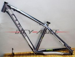 Wholesale Bicycle Frames Cube - Wholesale-2015 CUBE LTD SL ultra-light aluminum alloy MTB Bike bicycle frame assembled bicycle frame 29*17 inch grey color 1650g