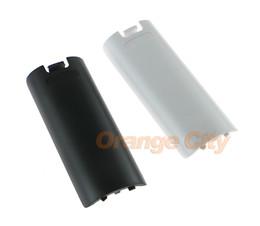 Coque de protection de porte arriere batterie sans fil pour coque de manette droit Wii, noir blanc chaque ? partir de fabricateur