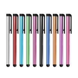 Wholesale Lg Tablet Phones - Capacitive Stylus Pen Touch Screen Pen For ipad Phone iPhone Samsung Tablet