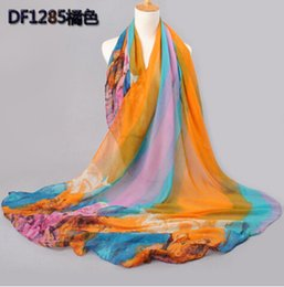 Wholesale Bali Silk Scarves Wholesale - Wholesale-cotton and bali yarn scarf 2015 female summer and autumn all-match scarf long design air conditioning cape silk scarves shawl