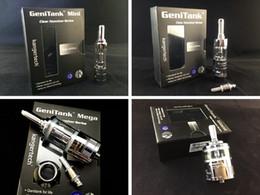 Wholesale Original Options - Original kanger vape tank genitank series electronic cigarette atomizer genitank mega 3 options