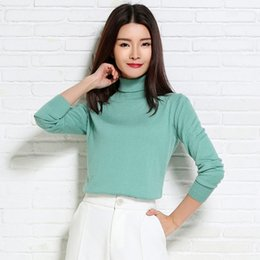 Wholesale Womens Warm Winter Sweaters - Wholesale- adohon 2017 womens winter Cashmere sweaters and auntmun turleneck women knitted High Quality Warm Female thickening pullovers