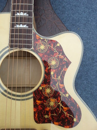 Wholesale Ebony Hollow - 2015+China's latest folk guitar, spruce, good timbre +43 inch