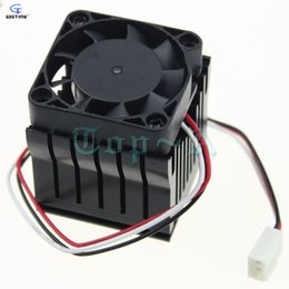 Wholesale Computer Motherboard Amd - Wholesale- 2pcs PC Computer Motherboard South Bridge Radiator Southbridge Radiator Northbridge Cooler Cooling Fan 40mm x 10mm