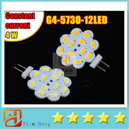 Wholesale cree star - 2015 New High brightness G4 12LED 5730 SMD Led Lamp 4W 600Lumen DC12V flower star lighting lamp with CE ROHS
