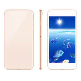 memory screen Promo Codes - Goophone IX i8plus Android 6.0 5.5inch Quad Core 1GRAM 4GBROM Add 8GB Memory Card 3G Show Fake 4G Unlocked Phone