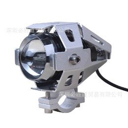 Wholesale Motorcycle Led Spotlights - Transformers LED headlamps motorcycle conversion U5 wholesale electric car manufacturers car spotlights fog light all free shipping