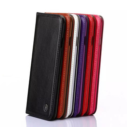 Wholesale New S4 Cases For S3 - 2015 New For iphone 6 6 Plus 5 5S Samsung Galaxy S6 galaxy s6 edge S4 S3 Note4 Cases Leather Wallet Credit Card Holder Stand Phone cases