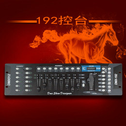 Wholesale Dmx Stage - Hot sell 1pcs 192 DMX controller, stage lighting DJ equipment For led par, spotlights moving heads Free shipping