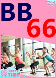 Wholesale Yoga Videos - on Hot Sale New Routine Course BB 66 Aerobics Fitness Exercise Tai Chi Yoga Pilates BB66 Video DVD + Music CD Free Shipping