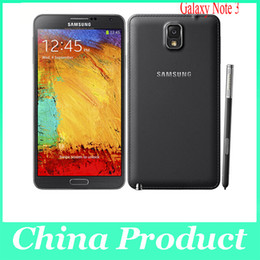 "Anmerkung 5.7 android quad kern online-Original Samsung Galaxy Note 3 Handy Quad Core 3G RAM 16GB ROM 13MP Kamera 5,7 ""Bildschirm N9005 N9000 Handy"