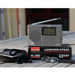 Tecsun PL-380 PL380 radyo Dijital PLL Taşınabilir Radyo FM Stereo / LW / SW / MW DSP Alıcısı Güzel Ücretsiz Kargo nereden