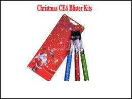 Noel Hediyesi CE4 Blister Kitleri Bir Noel blister içinde 650 mah 900 mah 1100 mah Noel Pil Perakende Ambalaj CE4 Elektronik Sigara Kiti nereden