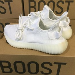 Wholesale Mens Ski Boots 12 - Cheap Kanye West Boost 350 V2 CP9366 CORE WHITE Triple White CP9366 Running Shoes Mens Womens Outdoor Sneakers UK 3.5-12 EUR 36-48