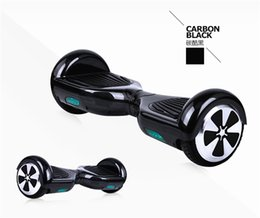Wholesale Skateboard Motorized - NO TAX Hoverboard 6.5inch Wheel Smart Balance Electric Scooter Motorized Skateboard Classic style Hover board Rich color black LED light