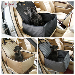 Wholesale Dog Crates Free Shipping - Free shipping ! DogLemi 2 in 1 Delux Pet Seat Cover Waterproof Dog Car Front Seat Crate Cover