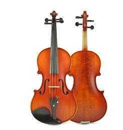 Wholesale Matt Paint - Free Shipping Tianyin Brand Matt Lacquer Paint Nature Tiger Stripe Violin 100% Handmade Student Grading Test Violin